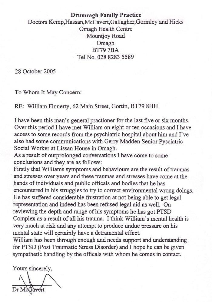 DrMcMichaelCaver-28October2005 Job Application Letter Doctor on example written, written form, best example nursing,